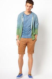 Мужские песочные шорты чинос