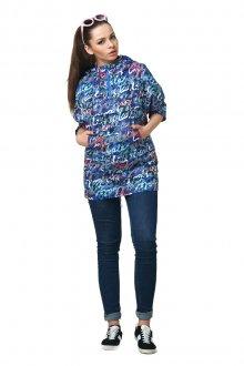 Женский анорак с джинсами