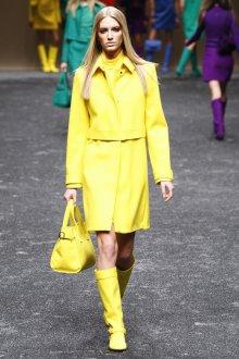 Желтый одноцветный образ