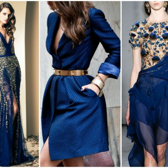 Сине-золотая одежда