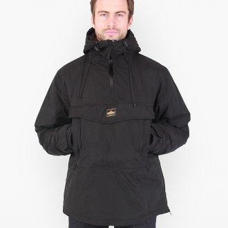 Черный зимний мужской анорак