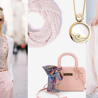 Бледно-розовый цвет в одежде