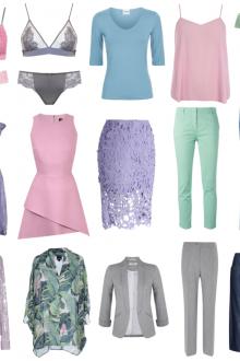 Одежда для цветотипа лето