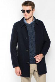 Короткое мужское черное пальто