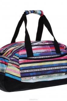 Спортивная полосатая стильная сумка
