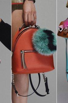 Украшение сумок бусинами и помпонами