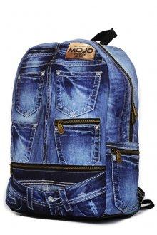 Оригинальный джинсовый рюкзак