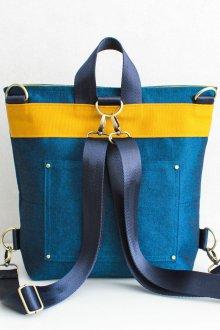 Необычный джинсовый рюкзак