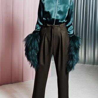 Атласная блузка 2018