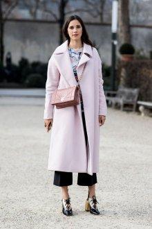 Пальто в пастельных тонах 2018