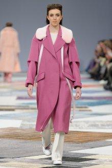 Пальто розовое 2018