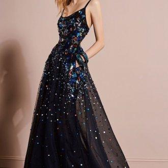 Блестящее платье 2019