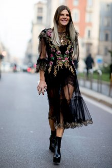 Платье 2019 в стиле бохо