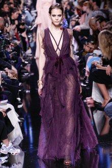 Платье 2019 фиолетовое