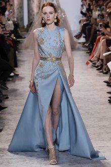 Платье 2019 голубое