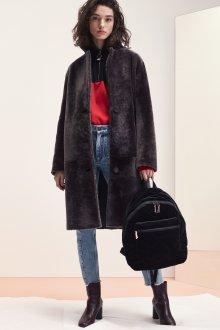 Модная мутоновая шуба 2020