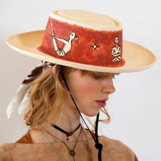 Шляпа в этническом стиле 2018