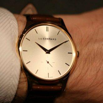 Мужские часы коричневые 2020