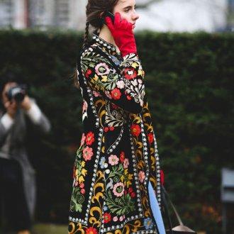 Пальто в стиле бохо 2018