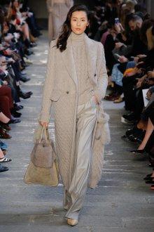 Модное вязаное пальто 2018