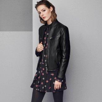 Черная женская куртка