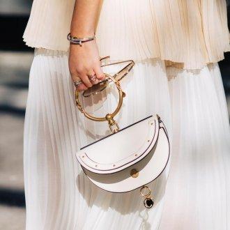 Белая сумка 2021