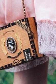 Модная сумка под деревянную шкатулку 2021