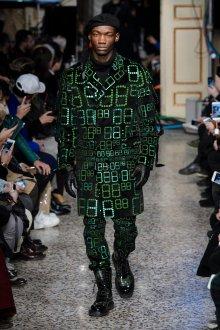 Мужская куртка с принтом 2018