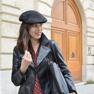 Кожаная куртка черная 2018