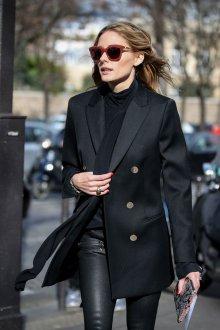 Двубортное пальто миди
