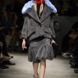 Пальто оверсайз из альпага