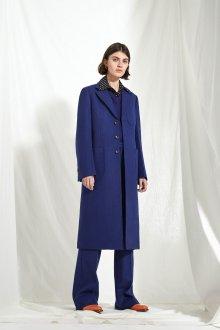 Классическое драповое пальто