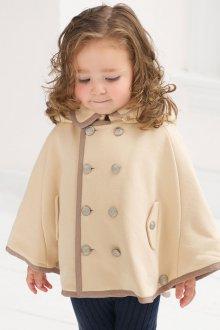 Пальто пончо для девочки