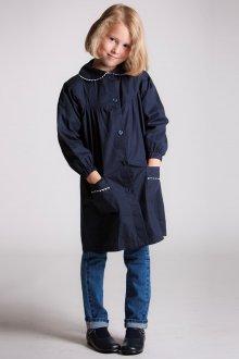 Синее пальто для девочки