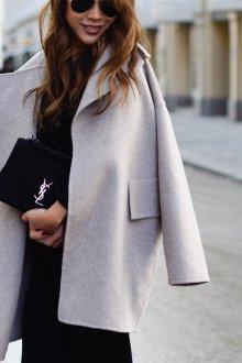 Кашемировое пальто оверсайз