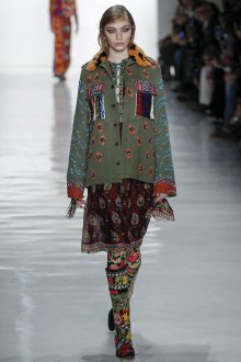 Куртка с мехом и декором