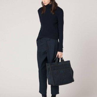 Женские широкие брюки с принтом