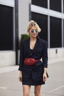 Удлиненный пиджак с поясом