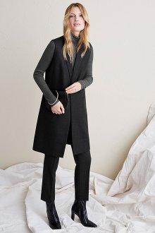 Удлиненный пиджак шерстяной