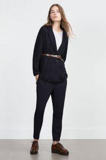 Удлиненный пиджак трикотажный