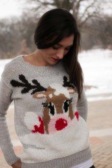 Рождественский свитер с оленями