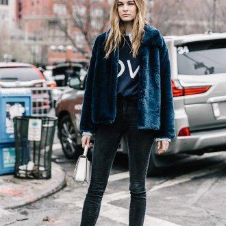 Черные джинсы зауженные