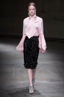Трикотажная блузка розовая