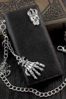 Мужской кошелек с декором