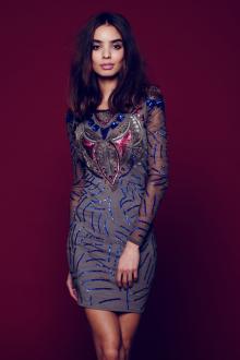 Новогоднее платье в этническом стиле