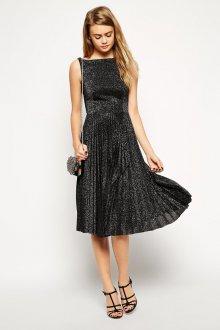 Новогоднее платье плиссе