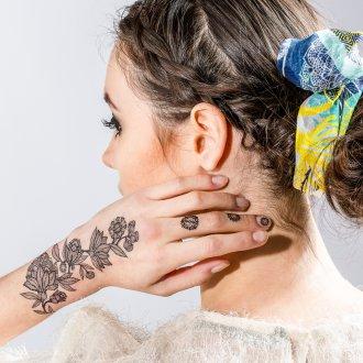 Шелковый шарф для волос