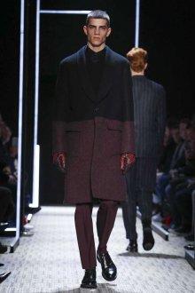 Бордовые мужские перчатки