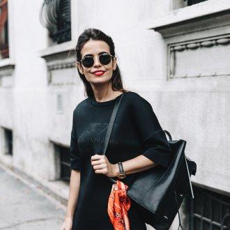 Черный рюкзак большой