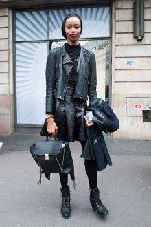 Черный рюкзак с расширителем